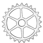 Spline Drive Sprockets