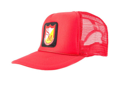 S&M Patch Snapback Trucker Mesh Cap
