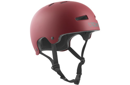 TSG Evolution Helmet satin-oxblood