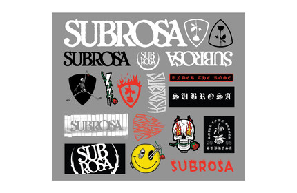 SUBROSA 2020 Sticker Pack