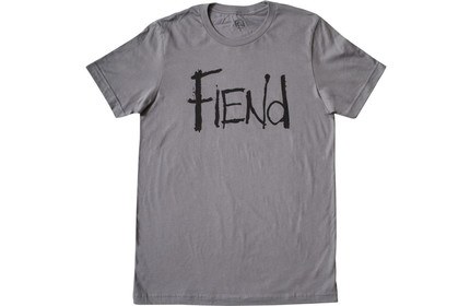 FIEND Logo T-Shirt GREY