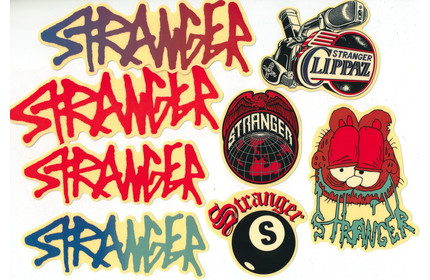 STRANGER Sticker Set