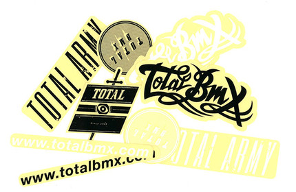 TOTAL-BMX Sticker Pack